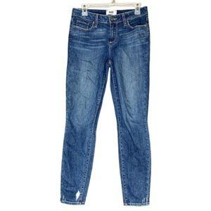 verdugo ankle paige skinny denim jeans size 29